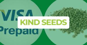 Seed banks that accept prepaid visa cards